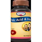 Natural Elements Folic Acid & Iron